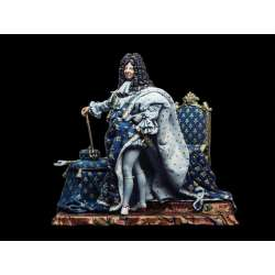 Figurine du Roi Soleil 54mm Andrea Miniatures.