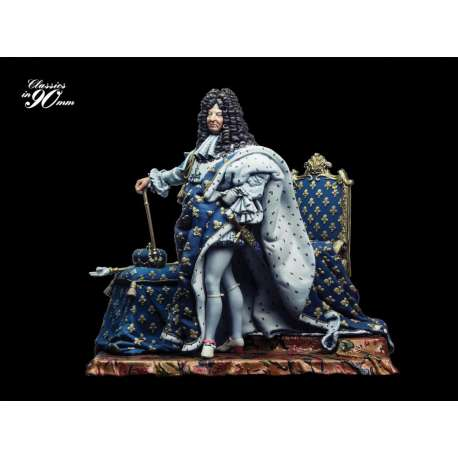 Figurine 90mm de Louis XIV Andrea Miniatures.