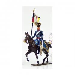 Figurine CBG Mignot de hussard du 1er régiment.