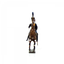 Figurine CBG Mignot officier du 2e régiment de hussards (1808)