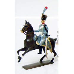Figurine CBG Mignot officier du 3e régiment de hussards (1808)