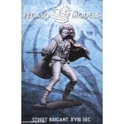 Figurine Pegaso Models, duel au XVII-XVIIIème siècle 75mm.