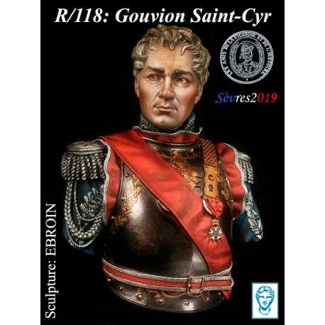 Buste de Gouvion Saint-Cyr 200mm Alexandros Models.