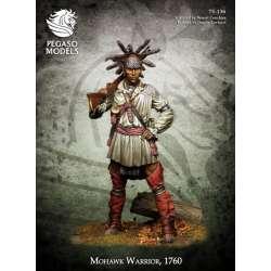 Figurine de guerrier MoHawk 75mm Pegaso Modeles.