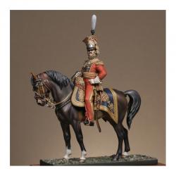 Figurine du Général Edouard de Colbert 1813 Metal Modeles.