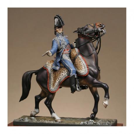 Figurine Metal Modeles d'Officier d'ordonnance de l'empereur 54mm.
