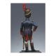 Figurine d'Officier de grenadiers à pied de la garde 1809 Métal Modeles.