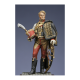 Figurine de Colonel baron Lejeune aide de camp du mal. Berthier Métal Modeles.