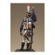 Métal Modeles, Sergent fourrier porte fanion des tirailleurs grenadiers de la garde 54mm.
