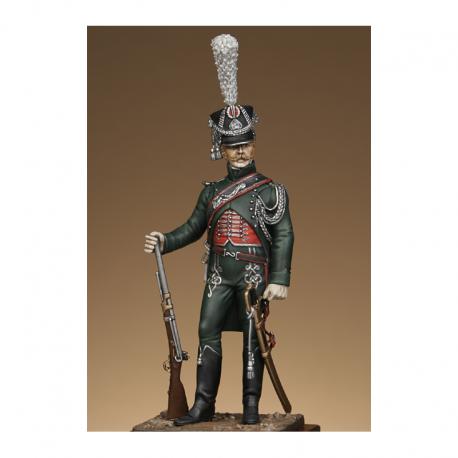 Figurine Métal Modeles de Gendarme d'ordonnance 54mm.
