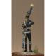 Figurine d'Off.6ème Rgt de chasseurs à cheval1795 75 mm.