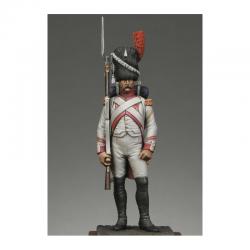 Figurine de Sergent des grenadiers hollandais de garde Metal Modeles.
