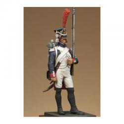 Figurine Metal Modeles de Fusilier-grenadier de la garde.