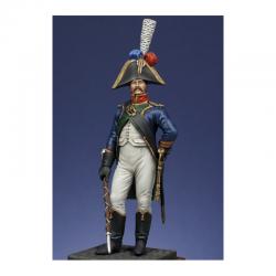 Figurine de Tambour - major du 4ème régiment Metal Modeles.