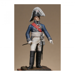 Figurine du Général Caulaincourt grand écuyer 1809 Metal Modeles.