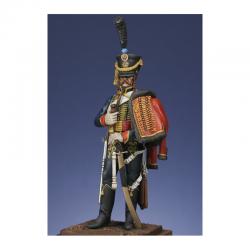 Figurine Metal Modeles de Hussard du 4ème régiment 1807.