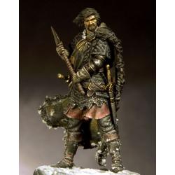 Figurine à peindre de noble Écossais du 13em siècle.