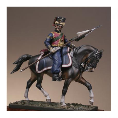 Figurine Metal Modeles de Tartare Lithuanien 1813 54mm
