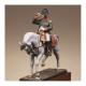Figurine de Napoléon 1er. En habit chasseur à cheval de la Garde Metal Modeles.