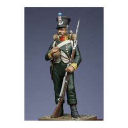Figurine Metal Modeles de Fusilier du 1er régiment croate.
