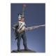 Figurine Metal Modeles de Caporal de chasseurs d'infanterie légère 1809.
