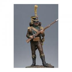 Figurine Metal Modeles de Voltigeur des tirailleurs corses.