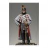 Figurine Metal Modeles de Dragon de la Garde Impériale en manteau 1813.