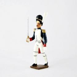 Figurine officier des grenadiers de la garde (1812) CBG Mignot.