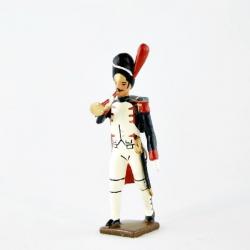 Figurine de clairon (d'ordonnance) des grenadiers de la garde (1812) CBG Mignot.