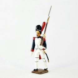 Figurine de fantassin des grenadiers de la garde (1812) CBG Mignot.