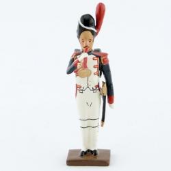 Figurine de clairon (d'ordonnance) des grenadiers de la garde au fixe CBG Mignot.