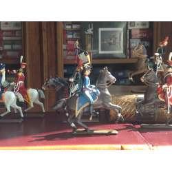 Figurine CBG Mignot de hussard du 1er.