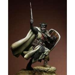Figurine de chevalier croisé du XII-XIIIeme siècle 75mm Pegaso Models.
