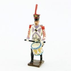 Figurine de tambour des voltigeurs du 33ème de ligne (1806) CBG Mignot.