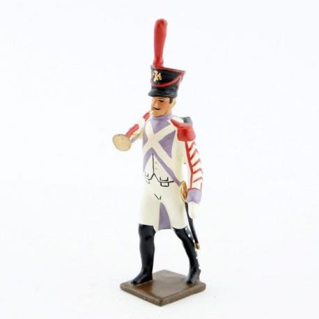 Figurine CBG Mignot de clairon des voltigeurs du 33ème de ligne (1806).