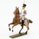 Figurine d'officier à cheval des voltigeurs du 33ème de ligne (1806)CBG Mignot.