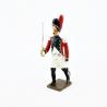 Figurine CBG Mignot d'officier des grenadiers du 4e régiment suisse (1812).