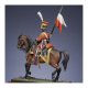 Figurine Metal Modèles de lancier rouge en 1813.