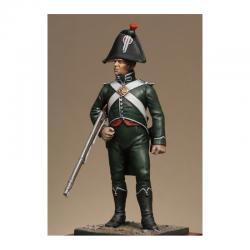 Figurine des Douanes Impériales - Brigade à pied Metal Modeles 54mm.