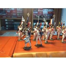 Figurine de tambour (d'ordonnance) des grenadiers de la garde (1812) CBG Mignot.