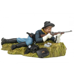 Figurine de cowboy, Andrea miniatures 54mm Toy soldiers ,cavalerie US.