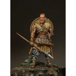 Figurine de guerrier Viking 54mm résine.