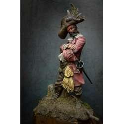 Figurine de flibustier du XVIIeme en resine.