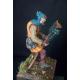 Figurine de bouffon médiéval 54mm Tartar Miniatures.