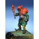 Figurine médiéval de bouffon en Resine 54mm.
