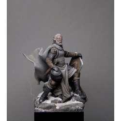 Figurine de chevalier Teutonique XIII-XIVeme siècle 54mm.