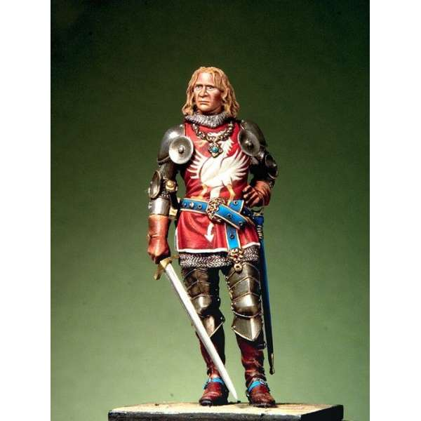 54mm figure kits .Pegaso.German knight XIV century.