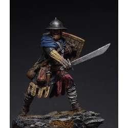 Figurine de guerrier du XIIIeme siècle 75mm.