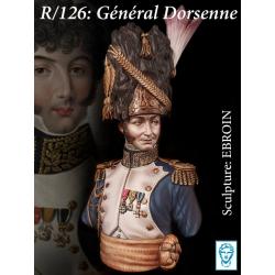 Buste du Général  Dorsenne 200mm résine Alexandros Models.