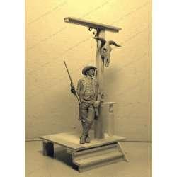 Figurine de Marchal en résine 75mm.